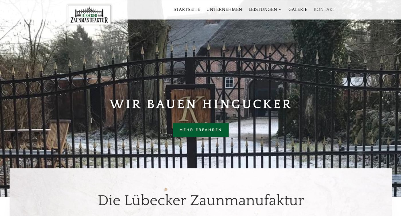 Lübecker Zaunmanufaktur